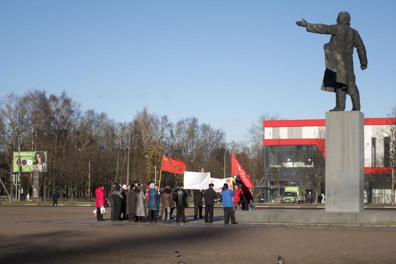 共产主义者 免版税库存图片