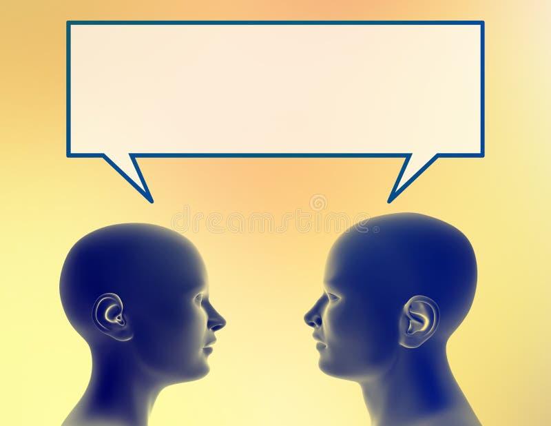 共享想法 向量例证