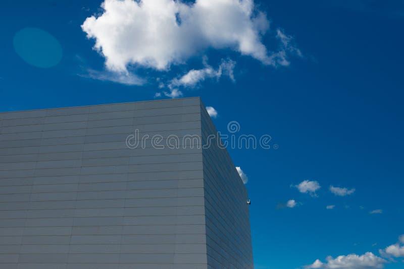 共同的现代企业摩天大楼,高层建筑物 库存图片