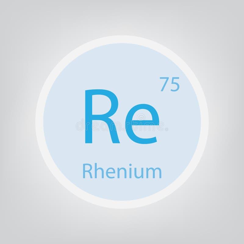 关于化学元素象的8 向量例证