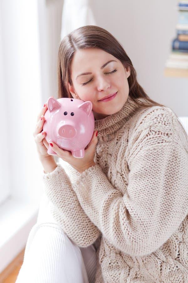 关于您的储款的关心 免版税库存图片