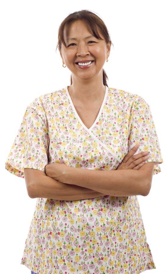 关心公共卫生工作者 免版税库存图片