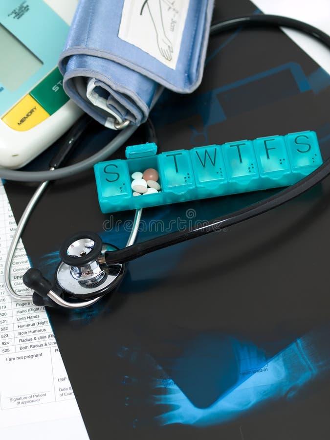 关心慢性医疗 免版税库存照片