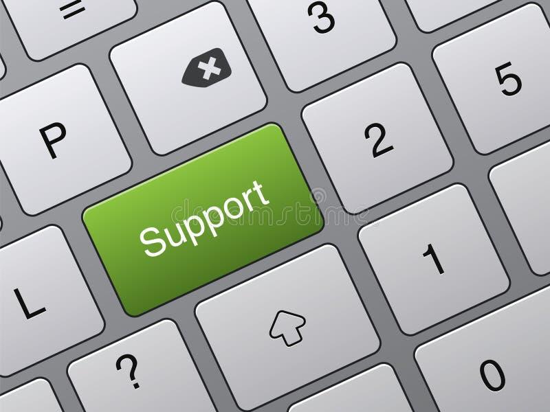 关键关键董事会技术支持 向量例证