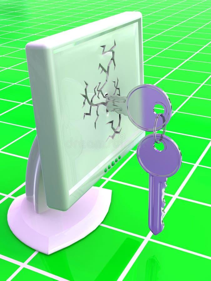 关键字监控程序 皇族释放例证
