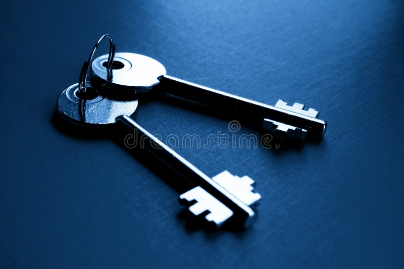 关键安全 免版税库存照片