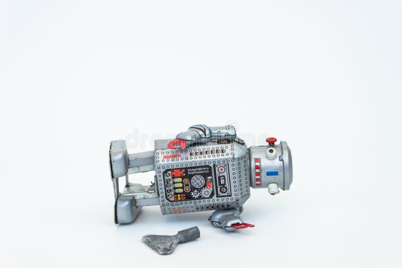 关键机器人 免版税库存图片