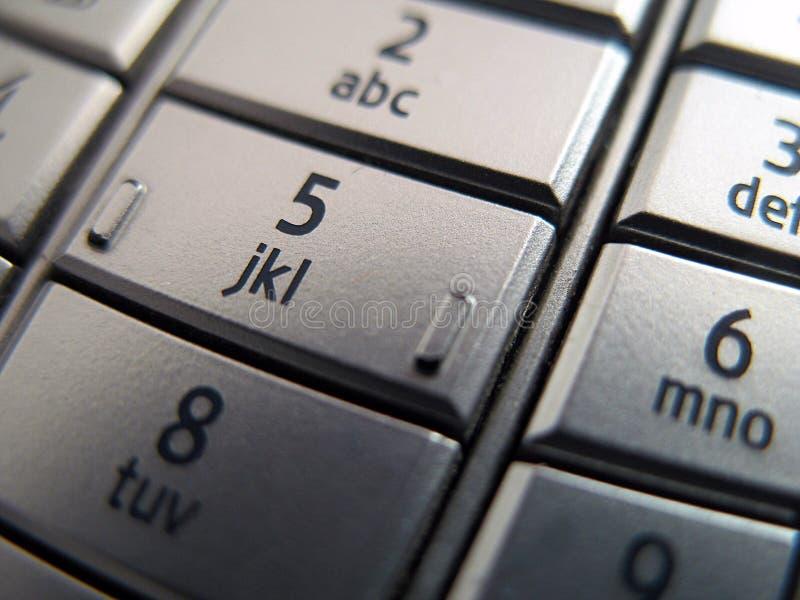 关键移动电话 库存图片