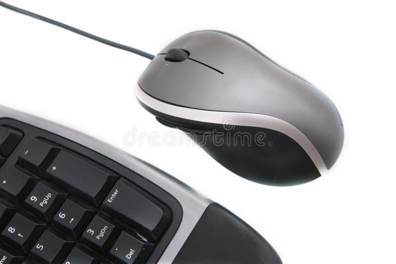 关键董事会鼠标 免版税库存照片
