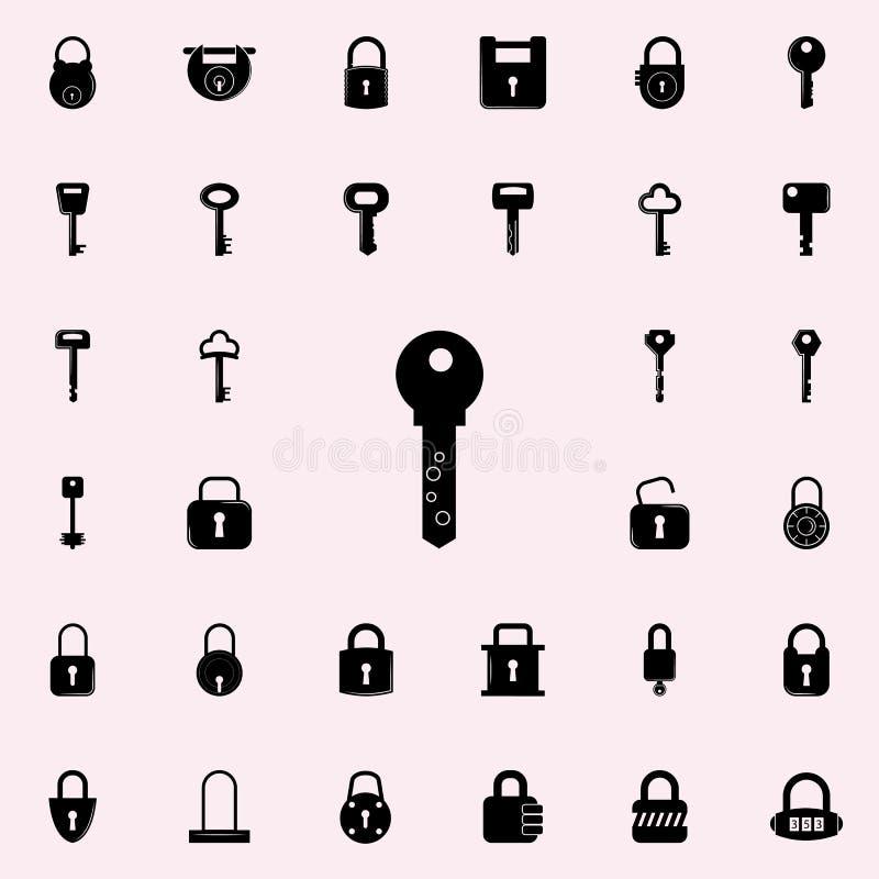 关键象 锁和钥匙象全集网和机动性的 皇族释放例证