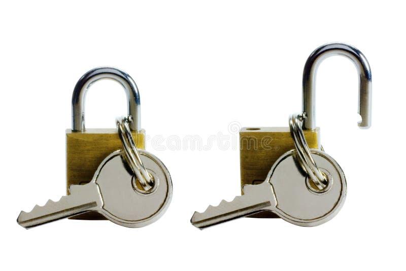关键锁定 库存图片