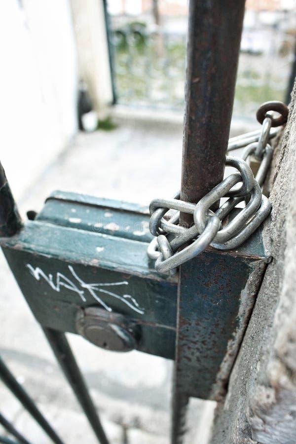 关键锁 库存图片