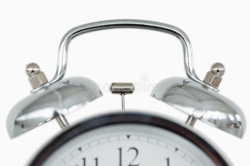 关闭一个古板的闹钟 图库摄影