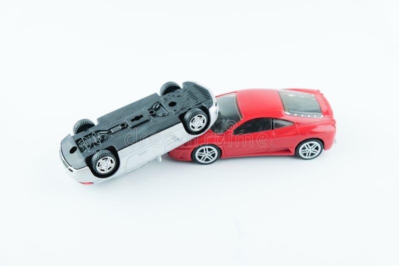 关闭两车祸,车祸保险 运输和 免版税库存图片