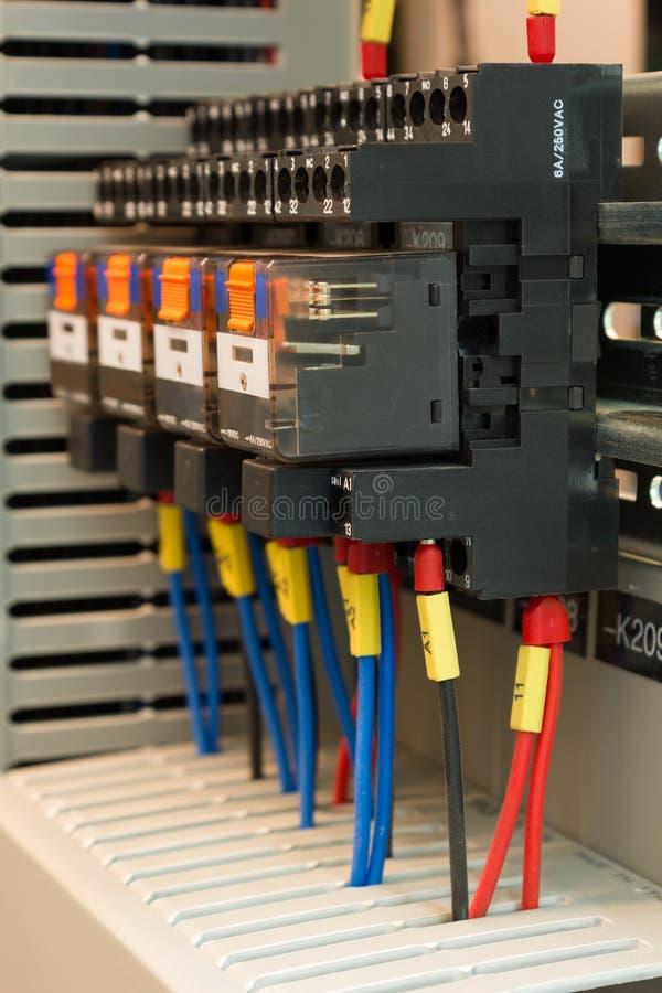 工业电动元件 免版税库存图片