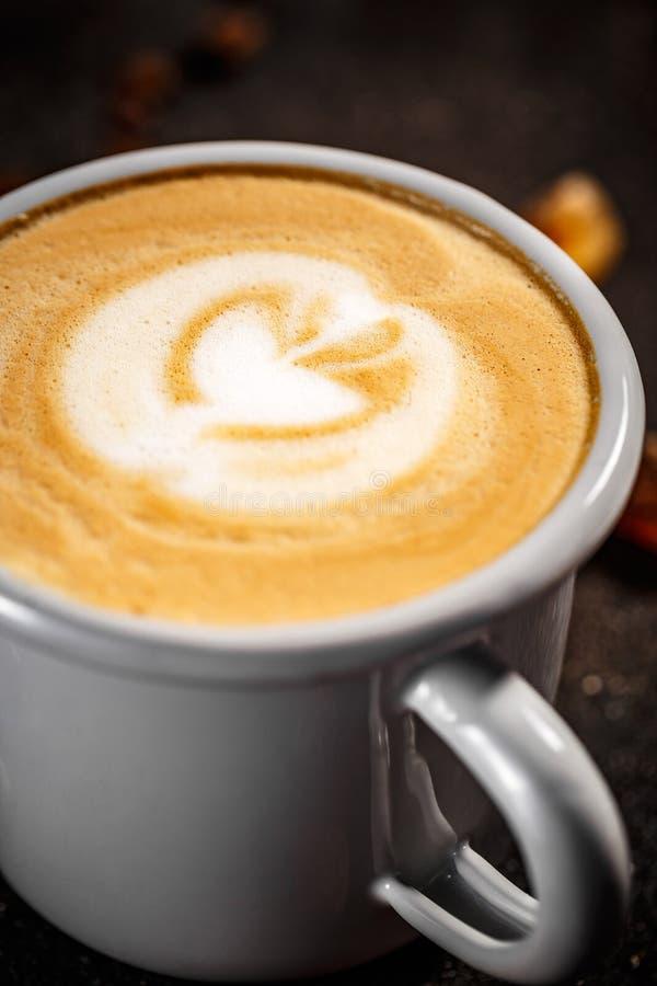 关闭新鲜的咖啡 免版税库存图片