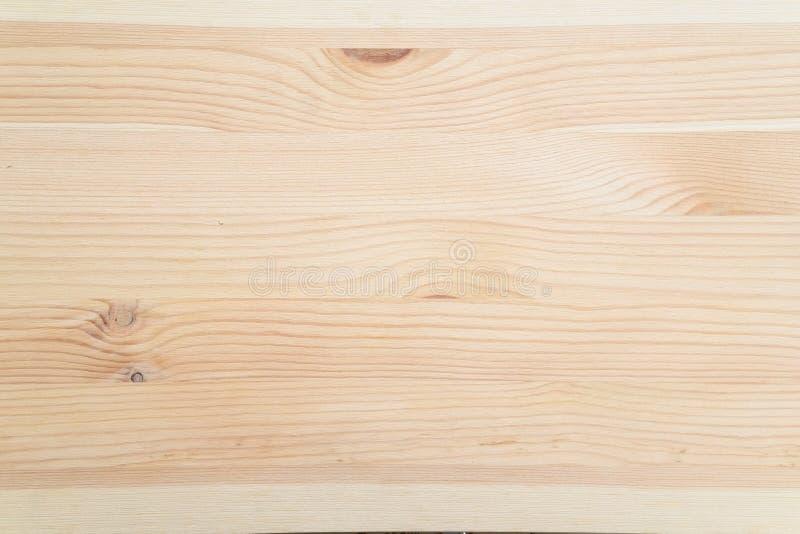 关闭棕色木板条纹理背景,白色木纹理有自然样式背景 库存照片