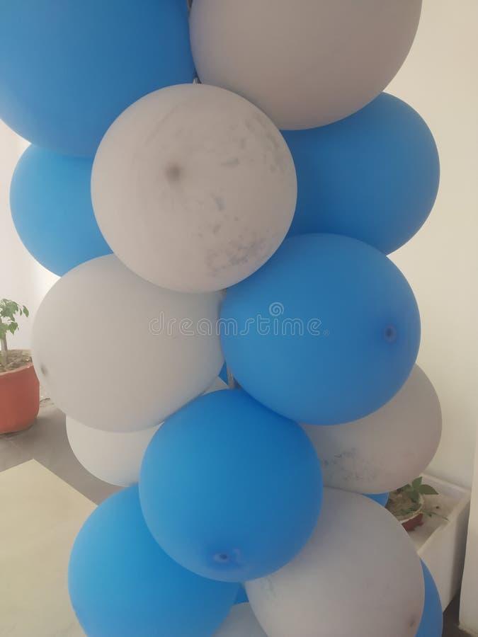 关闭气球 免版税图库摄影