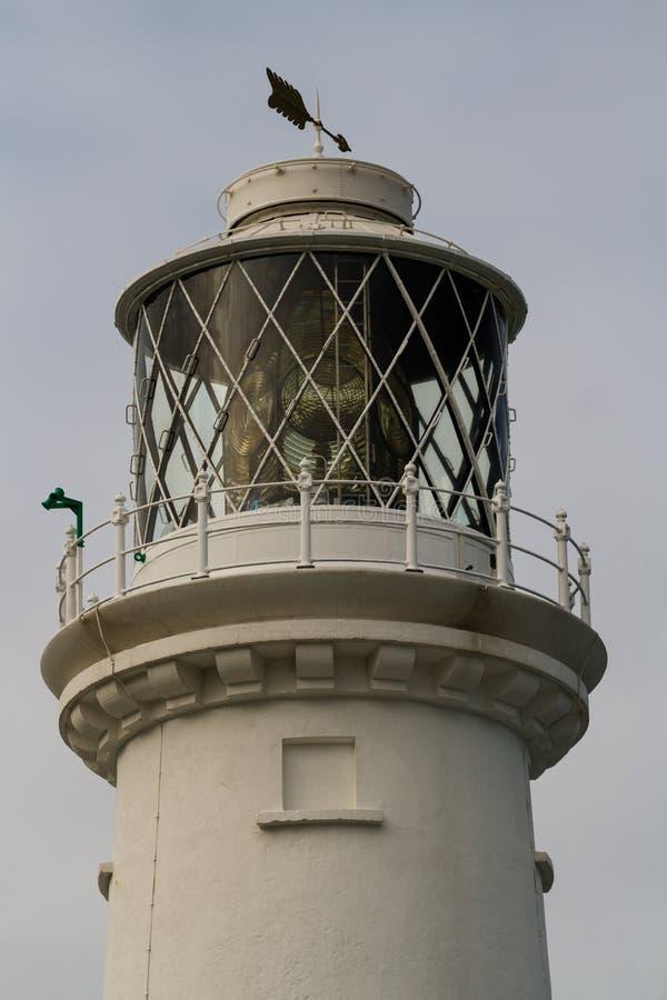 关闭灯笼室在灯塔顶部 库存照片