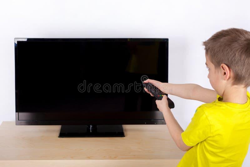 关闭电视 图库摄影
