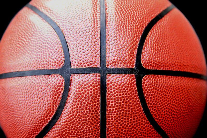 关闭看法basketbal室外 免版税图库摄影