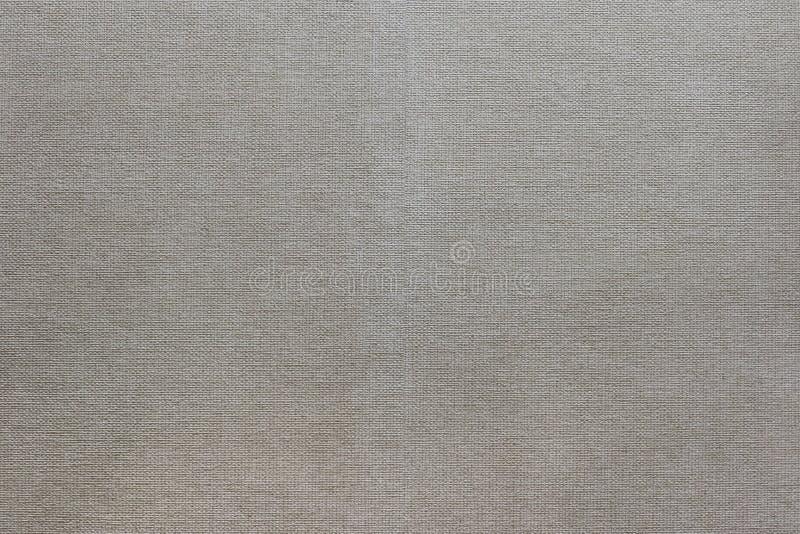 关闭简单的米黄帆布 免版税库存照片
