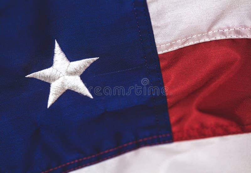 关闭美国国旗,红色白色和蓝色 免版税库存图片