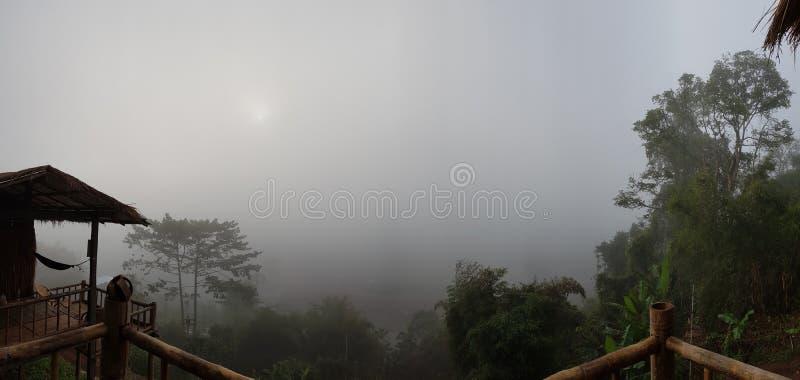 美好的风景在北部泰国 免版税图库摄影