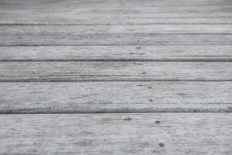 关闭老木板条地板 免版税库存照片