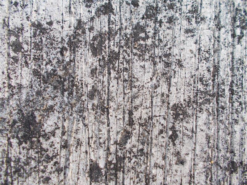 关闭老水泥墙壁表面、纹理和肮脏的背景 免版税库存图片