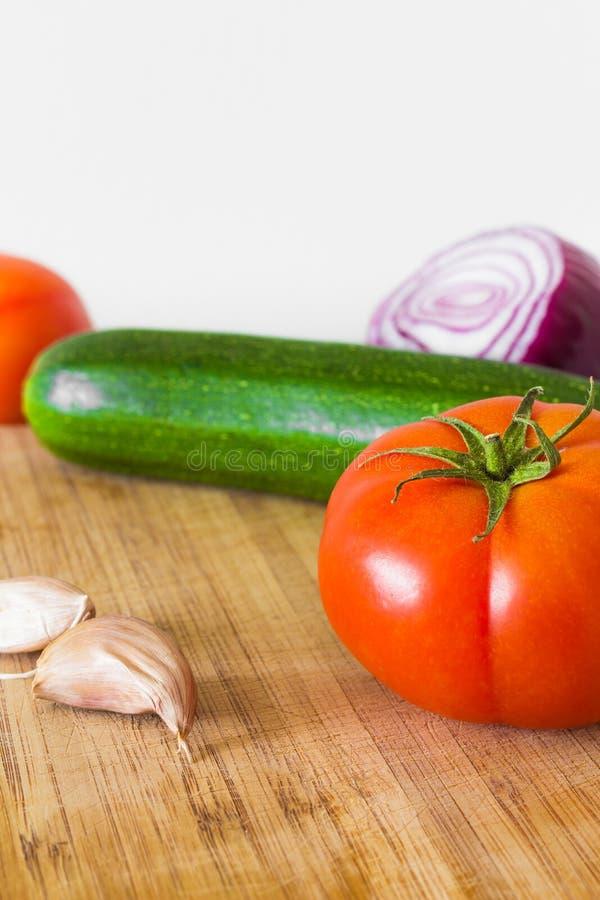 关闭蔬菜 免版税库存照片
