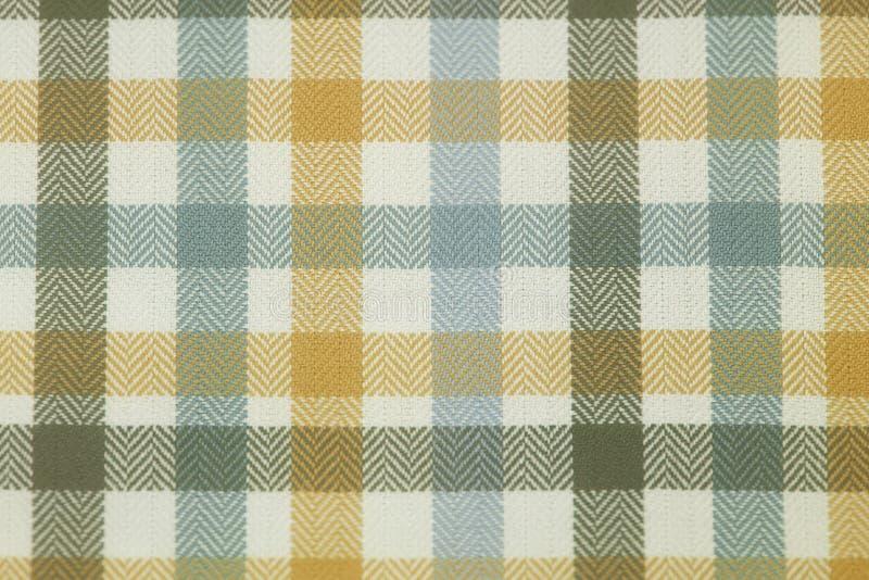 关闭被编织的棉纺织品背景 免版税库存照片