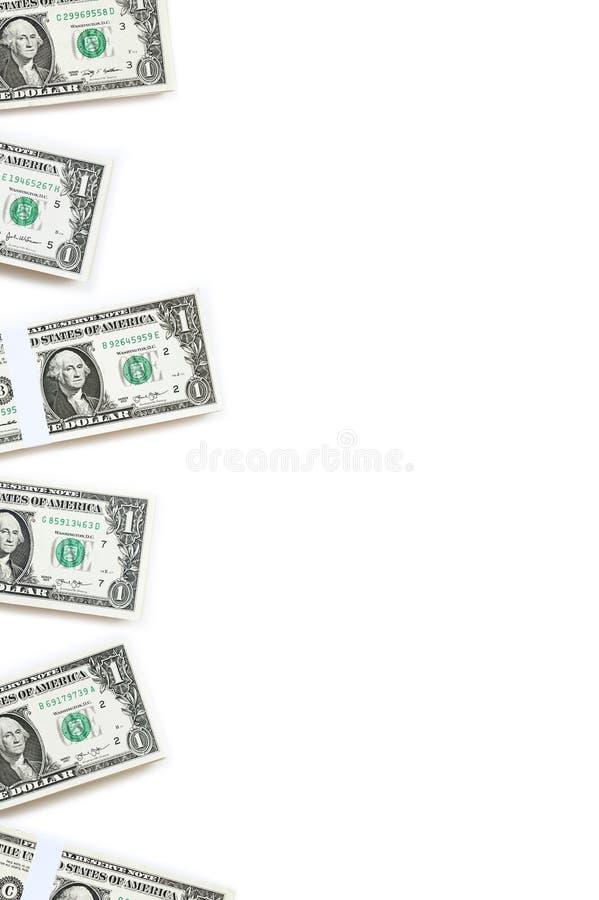 关闭钞票 向量例证