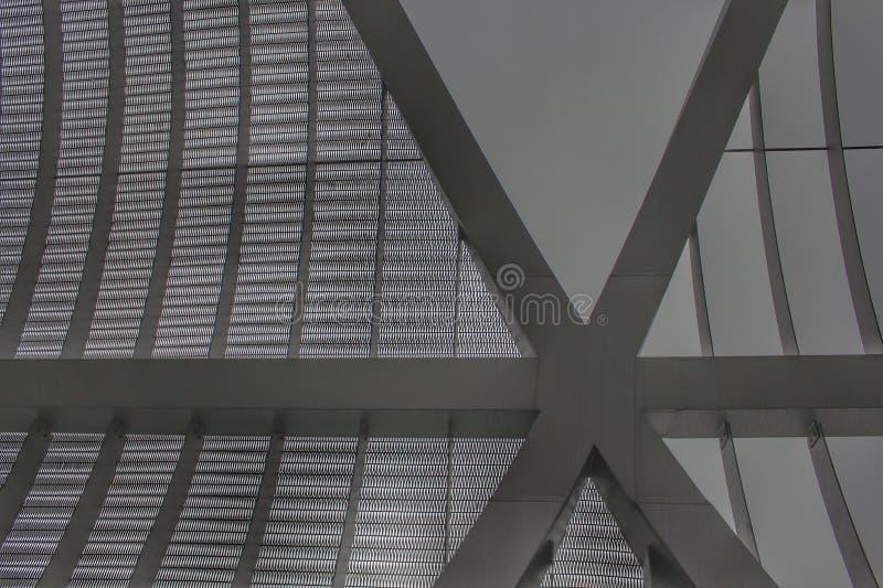 关闭阿尔甘苏埃拉人行桥 免版税库存照片