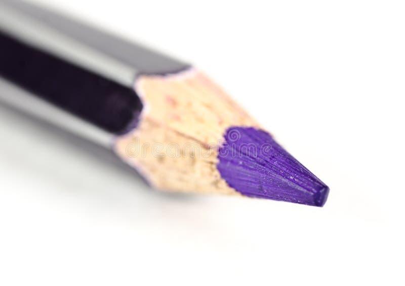 关闭颜色铅笔 免版税图库摄影