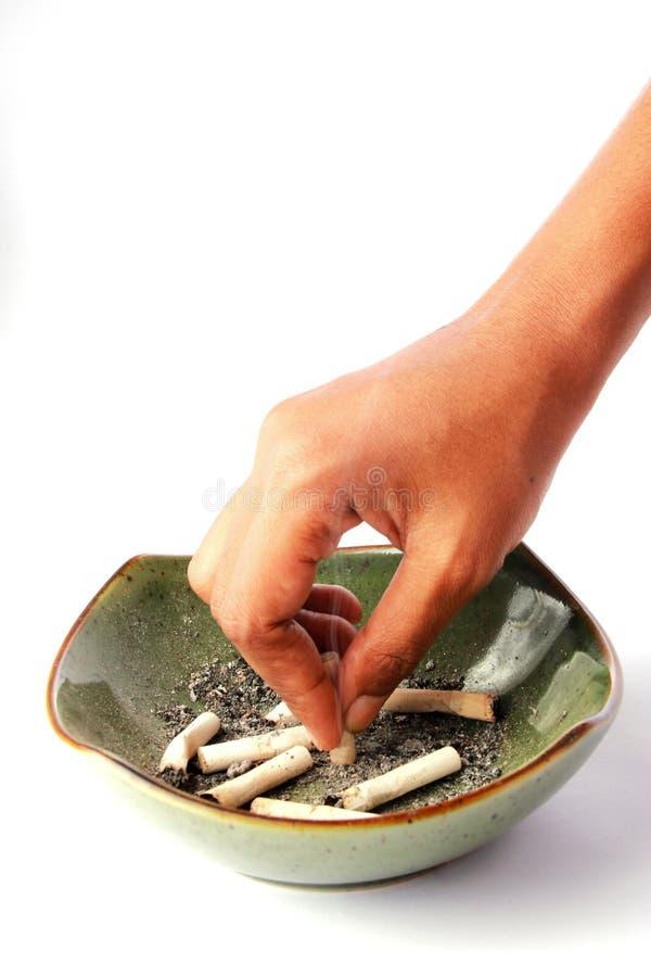 关闭香烟 免版税库存照片