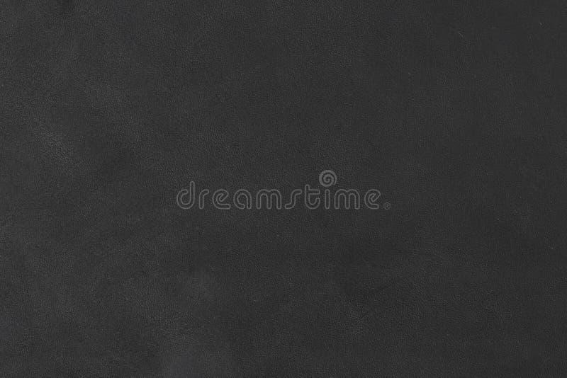 关闭黑皮革样片陈列五谷的部分和光束  图库摄影