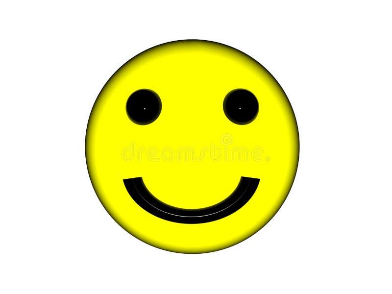 兴高采烈的黄色表面。 免版税库存照片