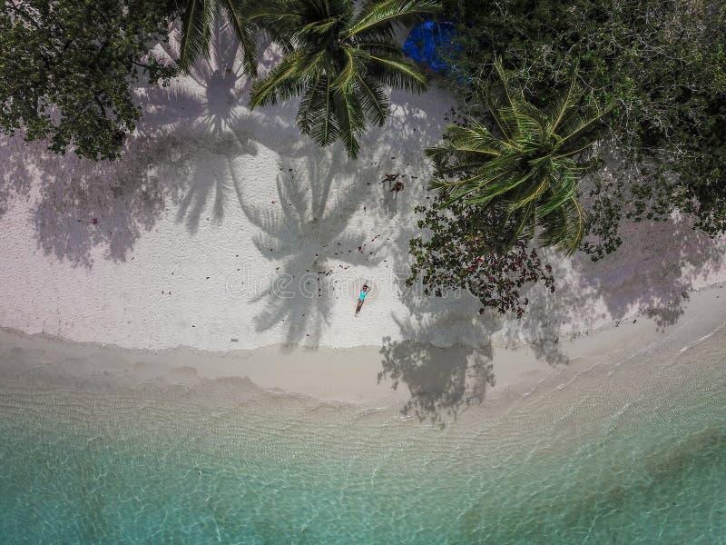 其中一个菲律宾的最美丽的海岛,通行证海岛  免版税图库摄影
