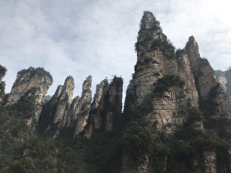 具体化公园张家界山自然 库存照片