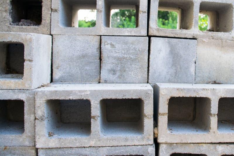 具体块建筑基础栅格  库存图片