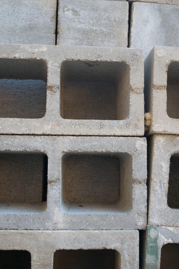 具体块正方形和长方形 图库摄影