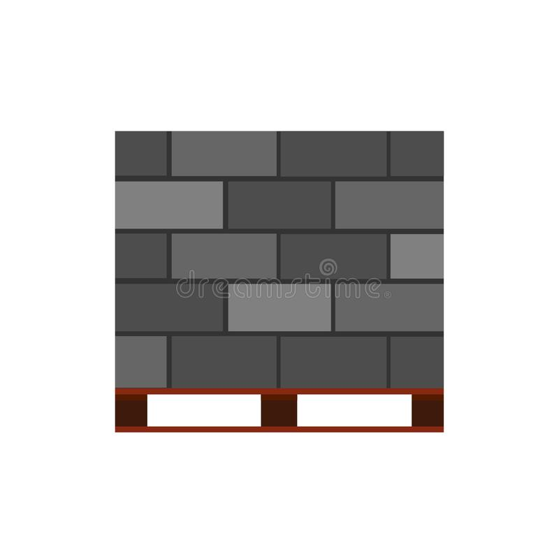 具体块砖传染媒介象建筑材料 水泥大厦建筑学墙壁 石产业石工砖砌 皇族释放例证