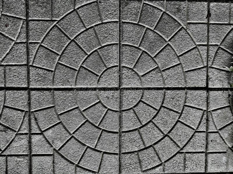 具体板材地板样式 免版税库存图片