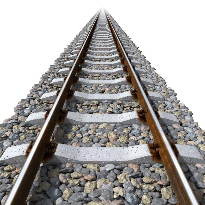 具体线路铁路运输睡眠者 皇族释放例证