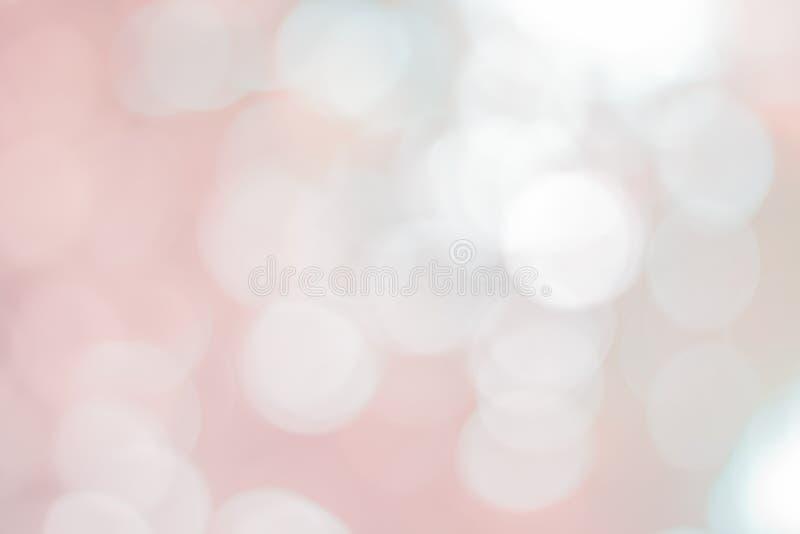具有柔和模糊背景的粉色Bokeh复古风格暖色淡淡淡淡淡淡淡淡淡 库存图片