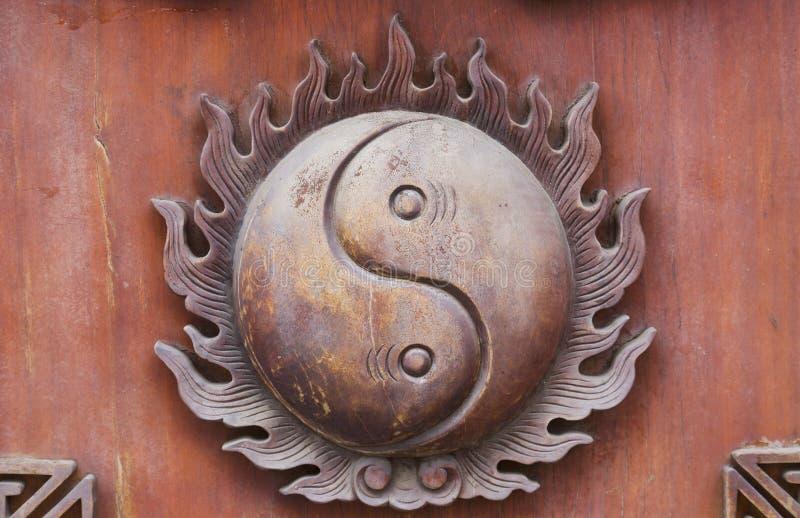 经典中国家具装饰 免版税库存照片