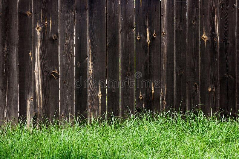 经典之作变老了木篱芭作为背景纹理 库存照片