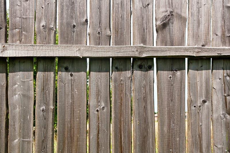 经典之作变老了木篱芭作为背景纹理 免版税库存照片