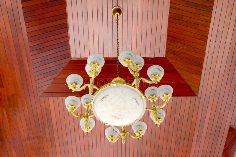 经典垂悬的灯 库存图片